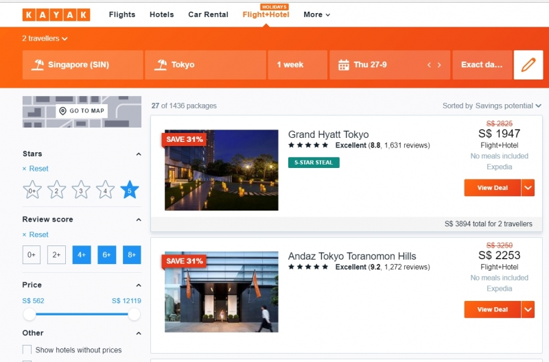 Cheap Hotel And Flight Bundles