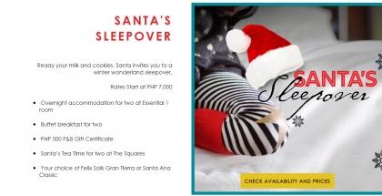Santa's Sleepover