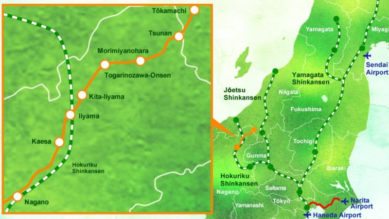 route map of oykot