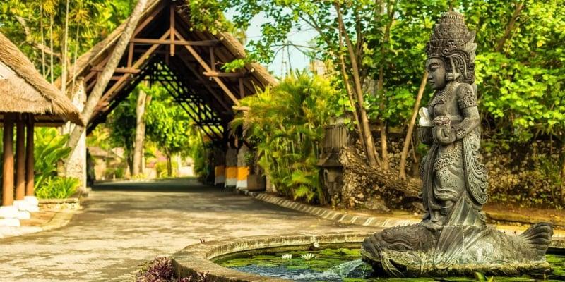 Bali via Dubai