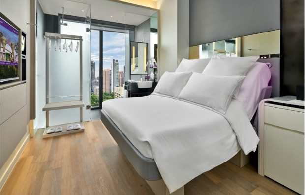 One Night Stay in the Premium Queen Cabin at S$190 nett in Yotel Singapore with AMEX Card