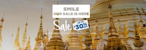 Smile Sale is Here | Hilton Hotels on Sale Up to 30% Off