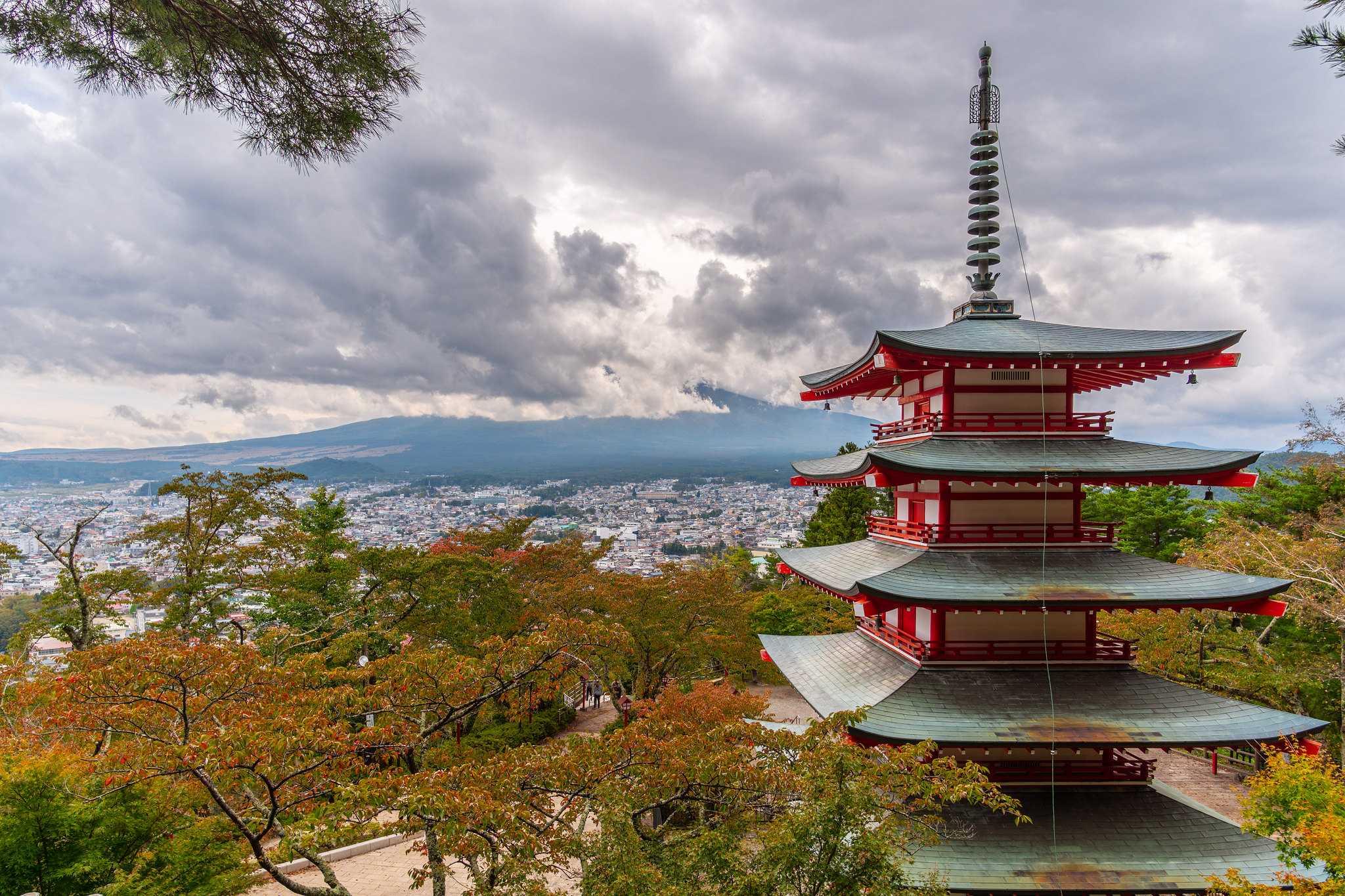Chureito Pagoda, Fuji