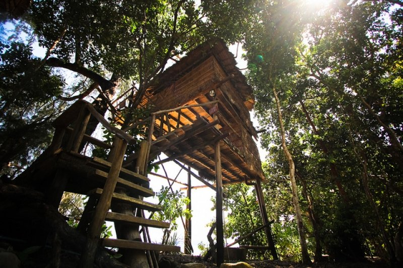 Treehouse Bungalow, Koh Rong, Cam-pu-chia
