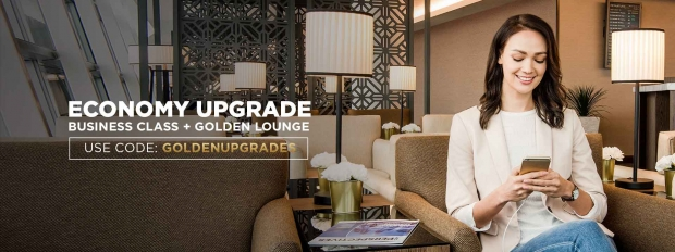 Economy Upgrade for Malaysia Airlines' Flights with Promo Code 'GOLDENUPGRADES'
