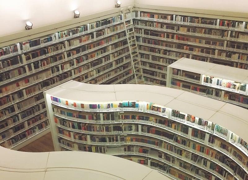 beautiful libaries: library@orchard, singapore