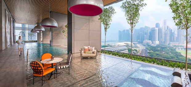 Experience Romance by the Pool in Singapore Marriott Tang Plaza Hotel