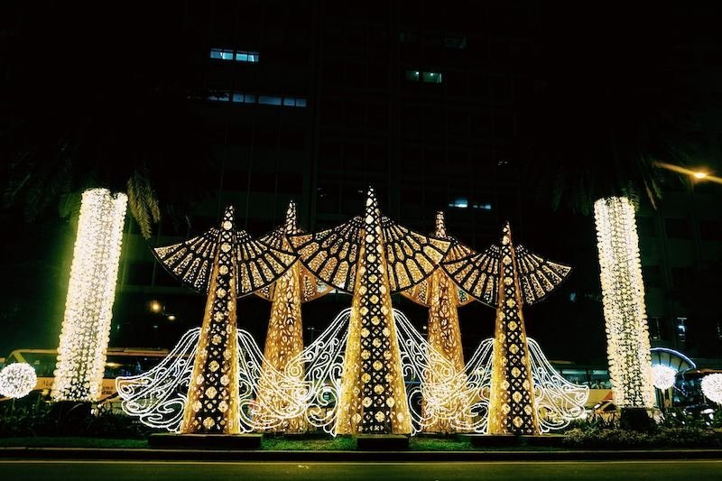 Festival of Lights at Ayala Triangle Gardens