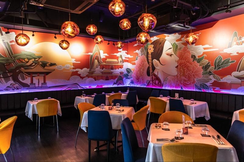 best dining spots valentines singapore