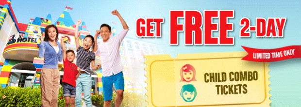 Get FREE 2-Day Combo Tickets with Legoland Malaysia Hotel Bookings