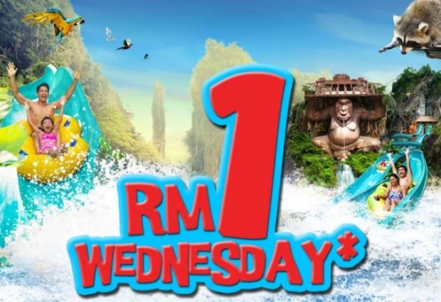 RM1 Wednesday in Sunway Lost World of Tambun Special Offer