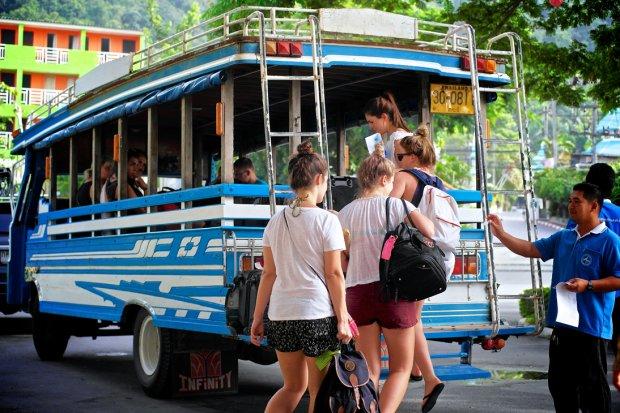 Phương tiện ở Krabi