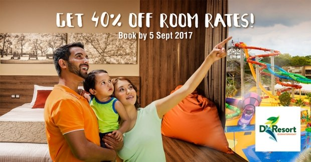 National Day 2017 Special Staycation Offer in D'Resort@Downtown East