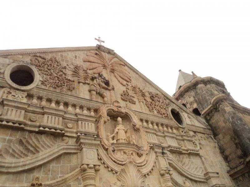 facade of miagao church