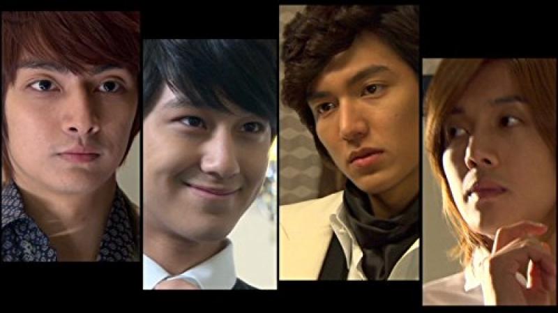 watching a k-drama series