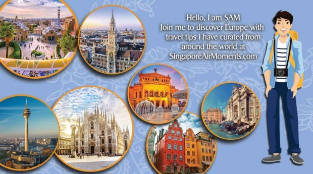 Discover more of Europe with Singapore Airlines from SGD988