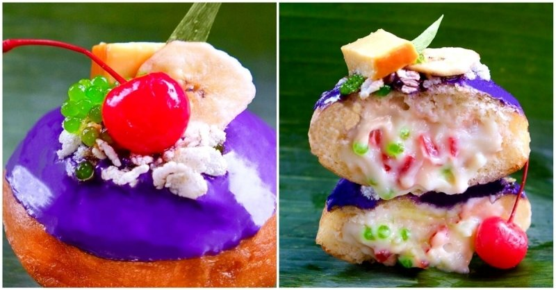 A Filipino Bakery With Ube and Halo-Halo Doughnuts Has an 800-Person Waitlist in New York City