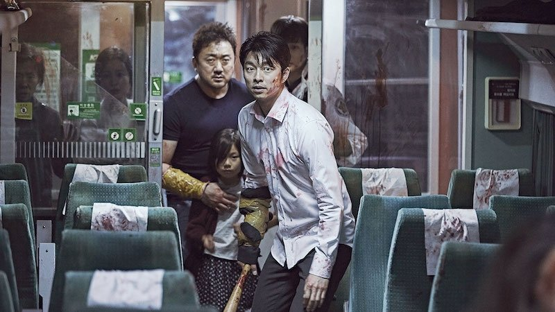 Fighting Korean Zombies in Train to Busan