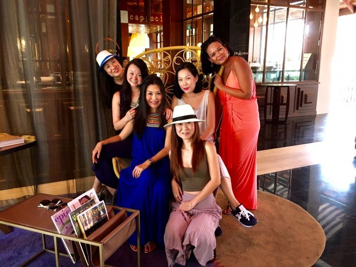 sofitel sentosa hens party night
