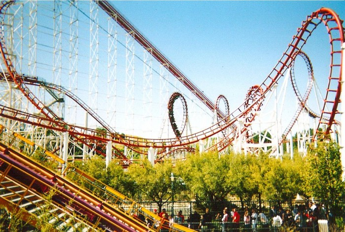 Six Flag's Magic Mountain
