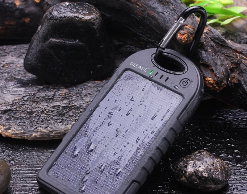 travel gadgets: waterproof solar charger