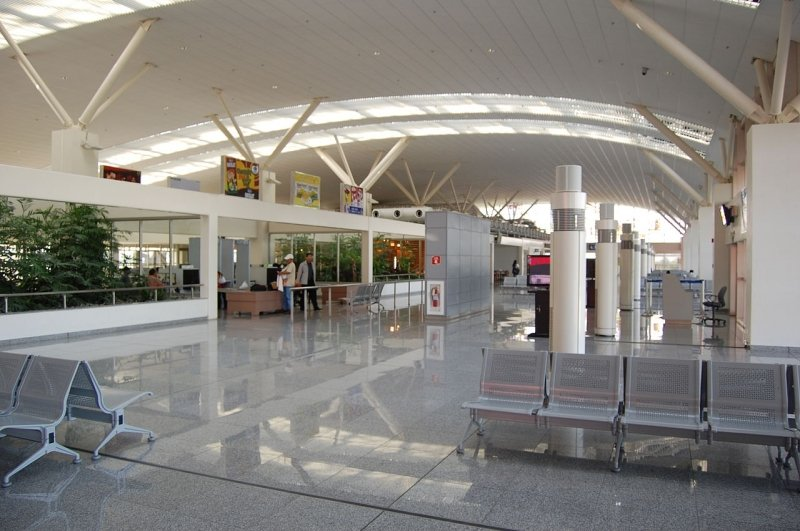 interiors of iloilo international airport