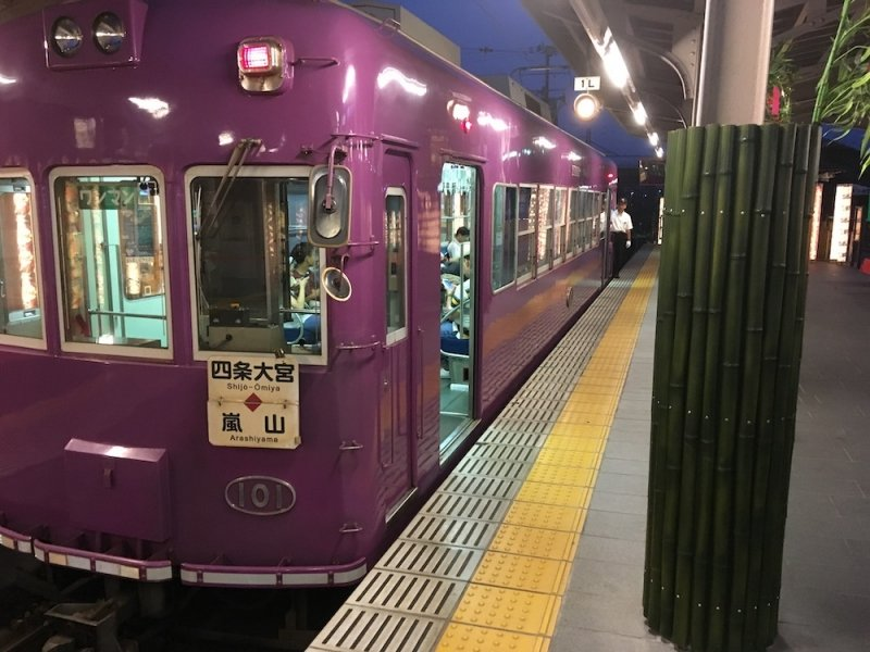 Keifuku Randen Tram