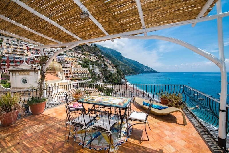 Picturesque Amalfi Coast Airbnb Homes With the Best Views