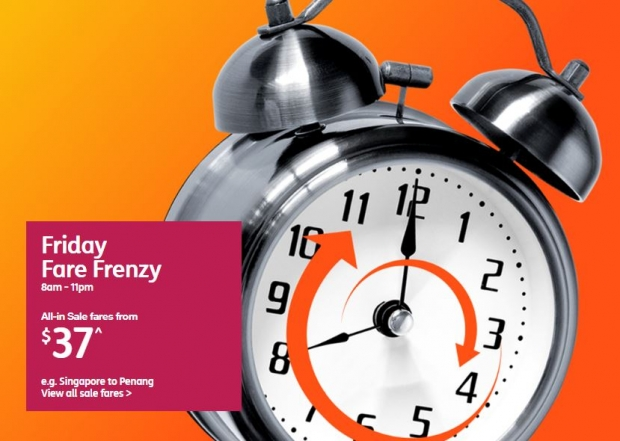 Weekend Fare Frenzy from SGD37 with Jetstar!