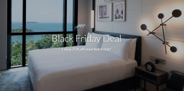 Black Friday Deal - Enjoy up to 25% Savings with Far East Hospitality