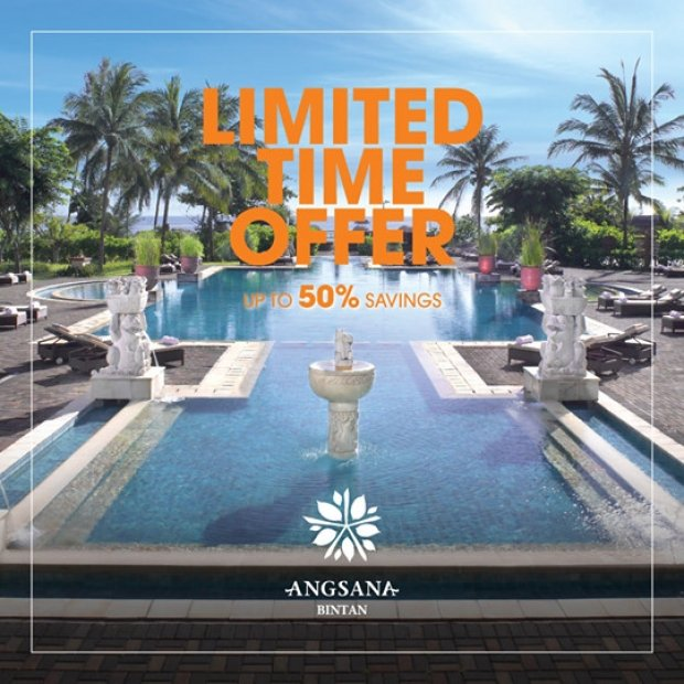 Limited Time Offer at Angsana Bintan with Up 50% Savings