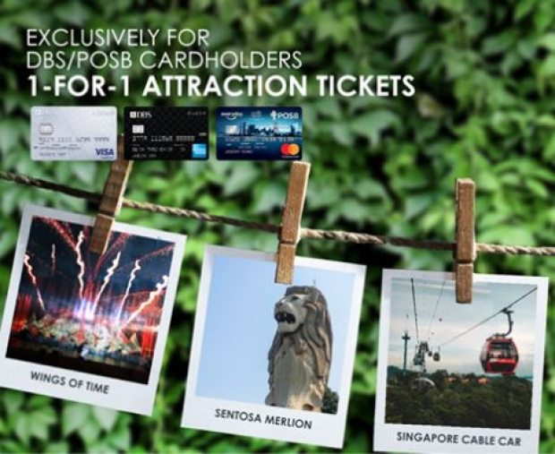 Enjoy Singapore Cable Car with 1-FOR-1 Attraction Offer