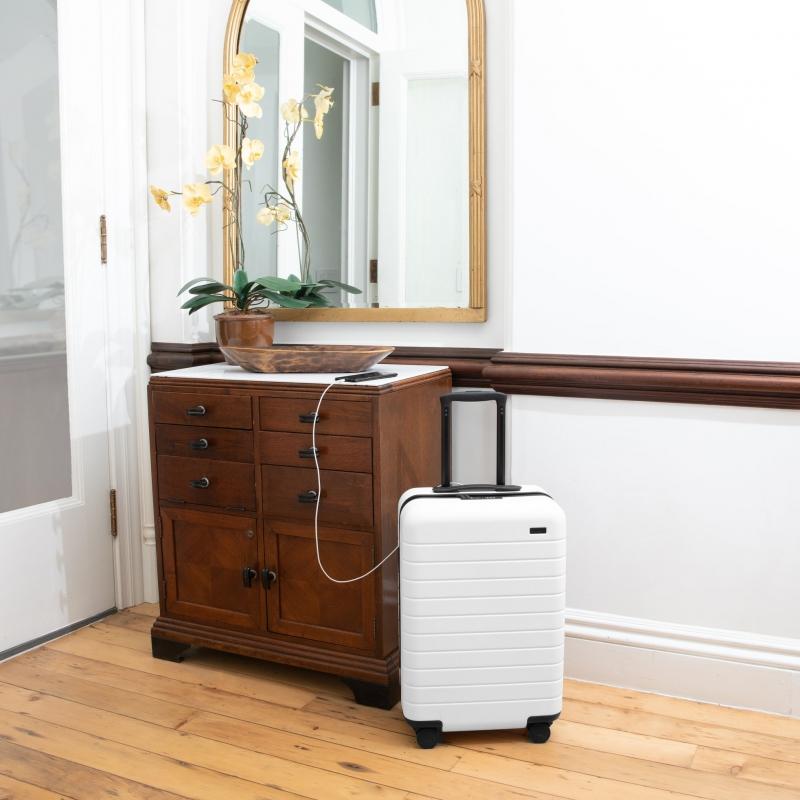 travel gadgets: smart suitcase