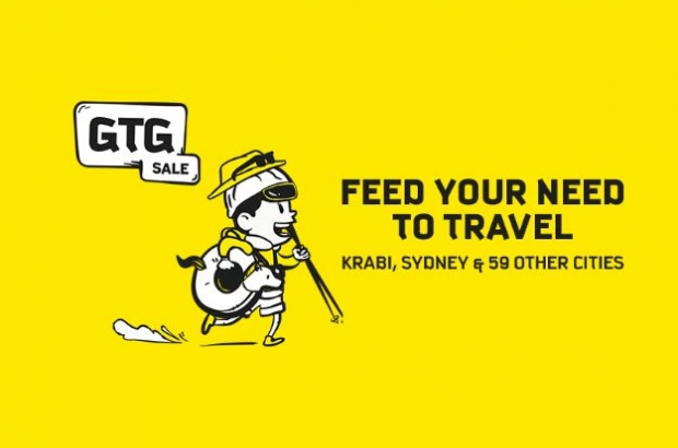 GTG Sale: Feed your Need to Travel with Scoot