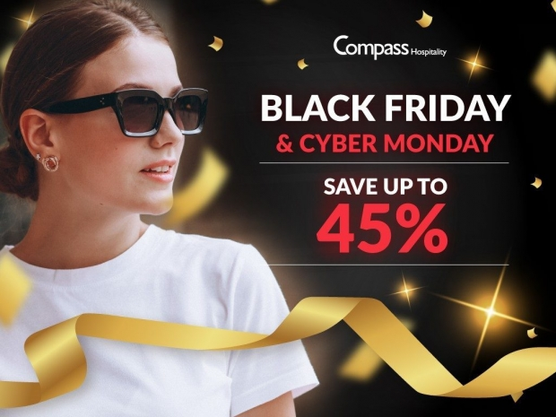 Black Friday and Cyber Monday Deals with Compass Hospitality