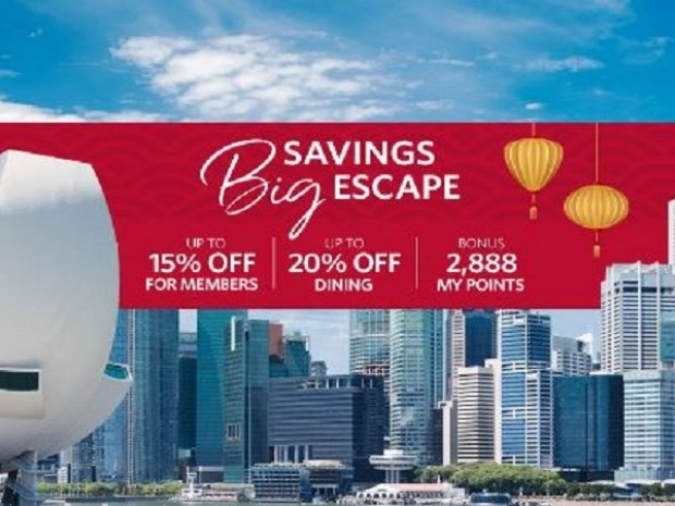 Big Savings. Big Escape. Enjoy Up to 15% Off Rates at Millennium and Copthorne Properties