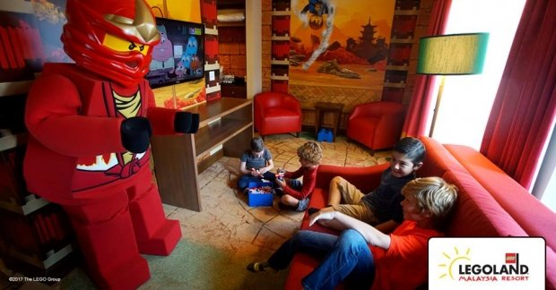 Ninjago Themed Room in Legoland Malaysia from RM810 Available for Stay by June