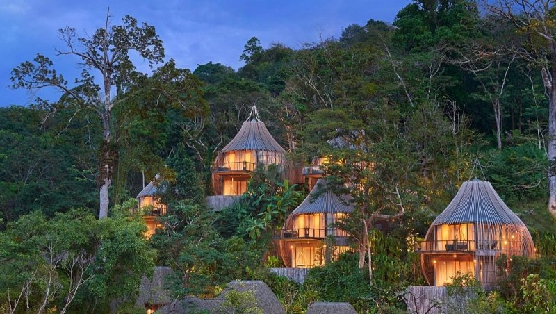 tree houses in thailand