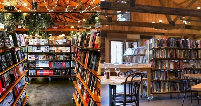 Berkelouw Book Barn in the bendooley estate