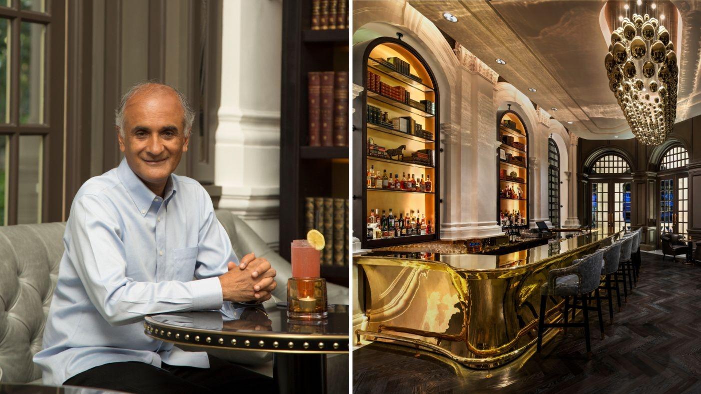 raffles hotel singapore writer's bar
