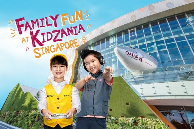 $10 off 1 Adult and Kid Ticket to KidZania Singapore for PAssion Cardholders