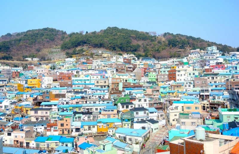 Gamcheon Culture Village for your 4 days Korea itinerary