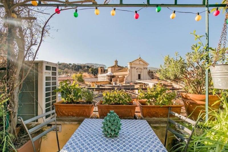 airbnb in rome in trastevere