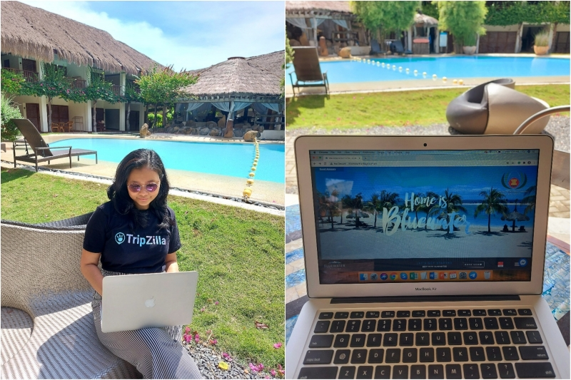 working from bluewater resorts
