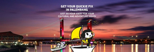 Fly to Palembang from SGD35 with Scoot