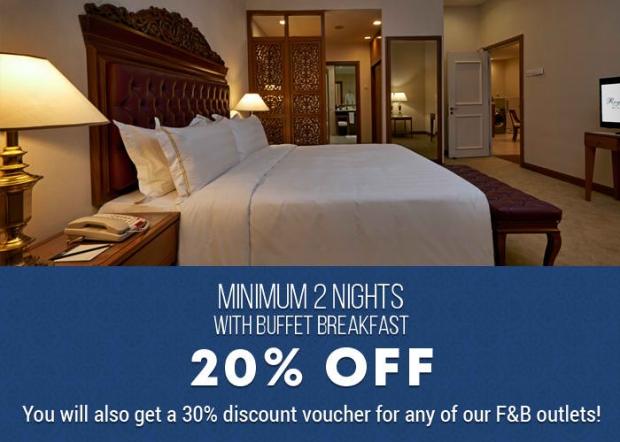 Minimum 2 Nights Promo with Buffet Breakfast at The Royale Chulan Kuala Lumpur