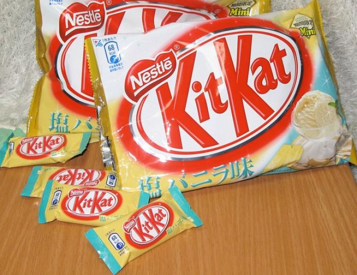 Vanilla Ice Cream KitKat