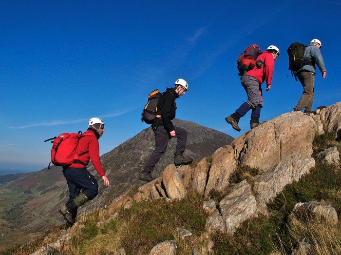 types of hikers