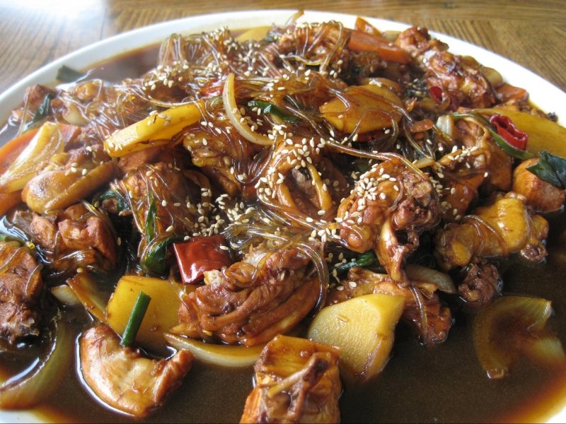 Hahoe traditional food - andong jjimdak