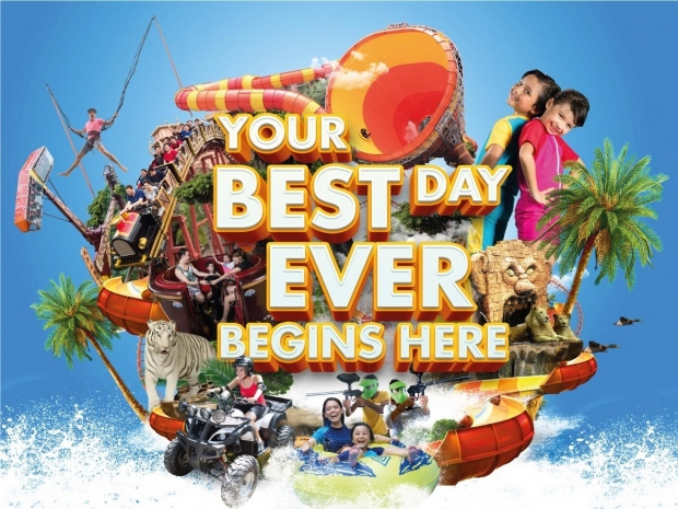 Admission Ticket: 6 Parks at One Price in Sunway Lagoon